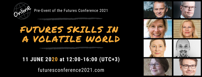 Welcome to the first online Pre-Event of the Futures Conference 2021